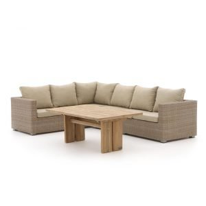 Intenso Carpino/ROUGH-L dining loungeset 3-delig links