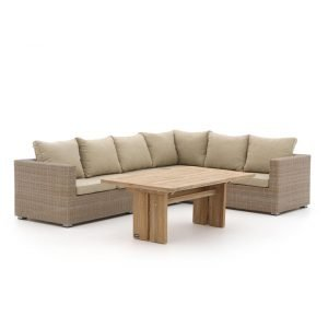 Intenso Carpino/ROUGH-L dining loungeset 3-delig rechts