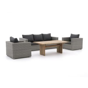 Intenso Carpino/ROUGH-L dining loungeset 4-delig