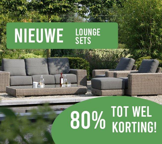 Nieuwe lounge sets korting banner