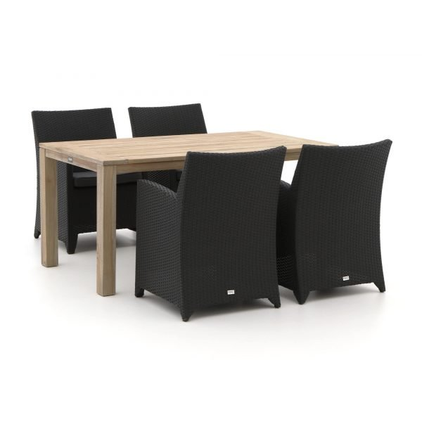 Forza Barolo/ROUGH-S 160cm dining tuinset 5-delig