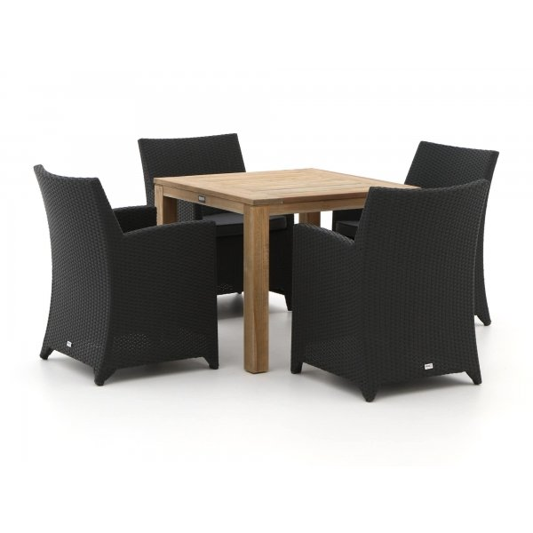 Forza Barolo/ROUGH-S 90cm dining tuinset 5-delig