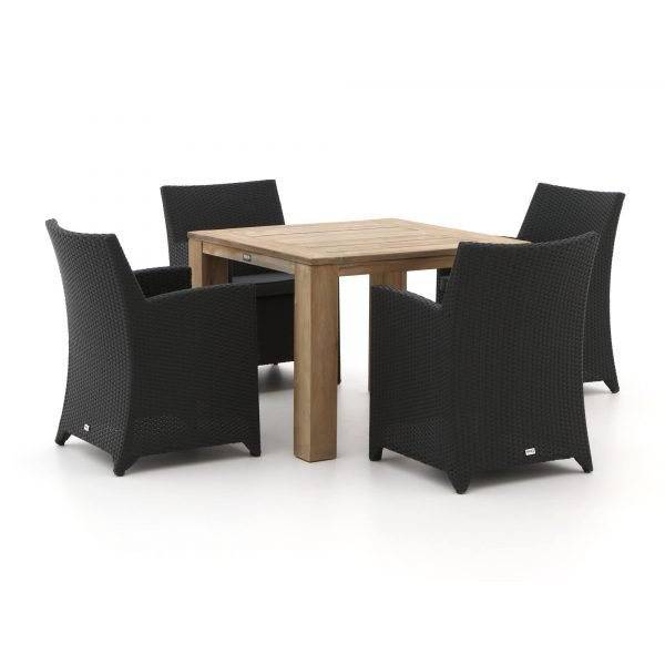 Forza Barolo/ROUGH-X 100cm dining tuinset 5-delig