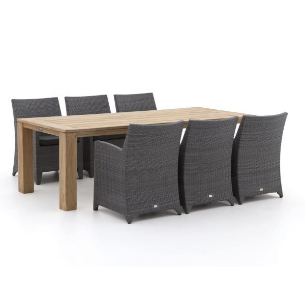 Forza Barolo/ROUGH-X 240cm dining tuinset 7-delig
