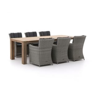 Intenso Adriano/ROUGH-X 240cm dining tuinset 7-delig