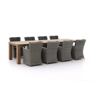 Intenso Adriano/ROUGH-X 320cm dining tuinset 9-delig