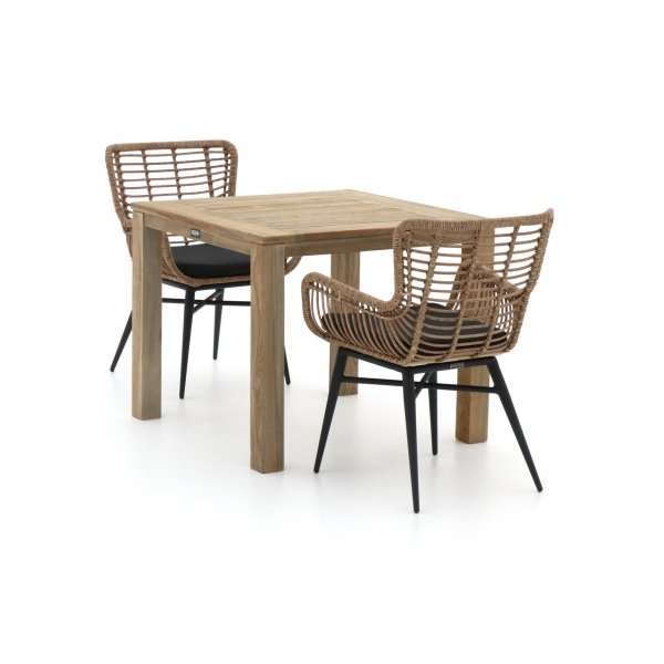 Intenso Asti/ROUGH-S 90cm dining tuinset 3-delig