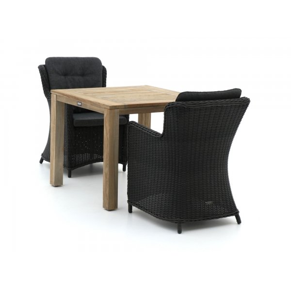 Intenso Milano/ROUGH-S 90cm dining tuinset 3-delig