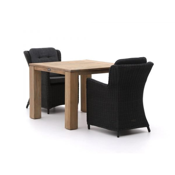 Intenso Milano/ROUGH-X 100cm dining tuinset 3-delig
