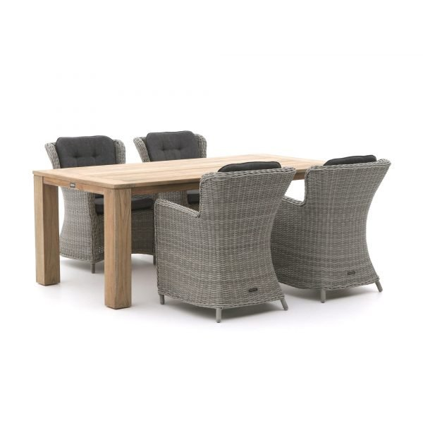 Intenso Milano/ROUGH-X 200cm dining tuinset 5-delig