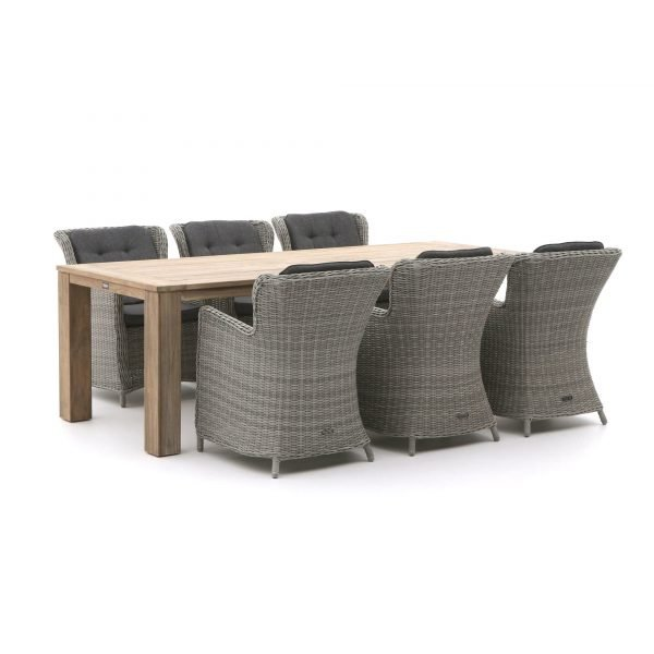 Intenso Milano/ROUGH-X 240cm dining tuinset 7-delig