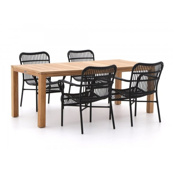 Intenso Parma/Oxford 200cm dining tuinset 5-delig