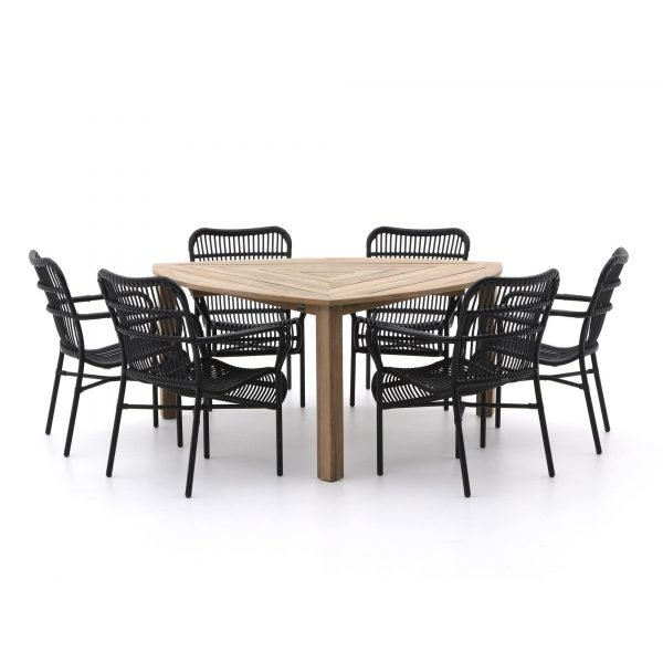 Intenso Parma/ROUGH-S 170cm dining tuinset 7-delig
