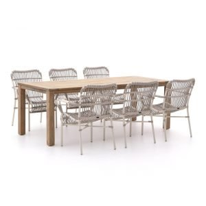 Intenso Parma/ROUGH-S 220cm dining tuinset 7-delig
