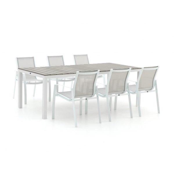 R&S Design Altea/Fidenza 220cm dining tuinset 7-delig stapelbaar