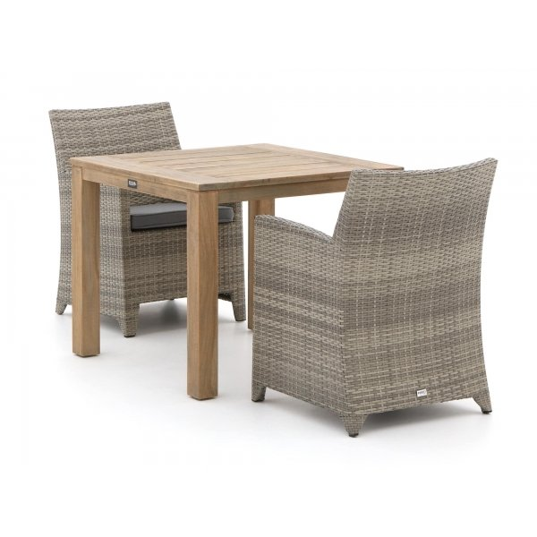 Forza Barolo/ROUGH-S 90cm dining tuinset 3-delig