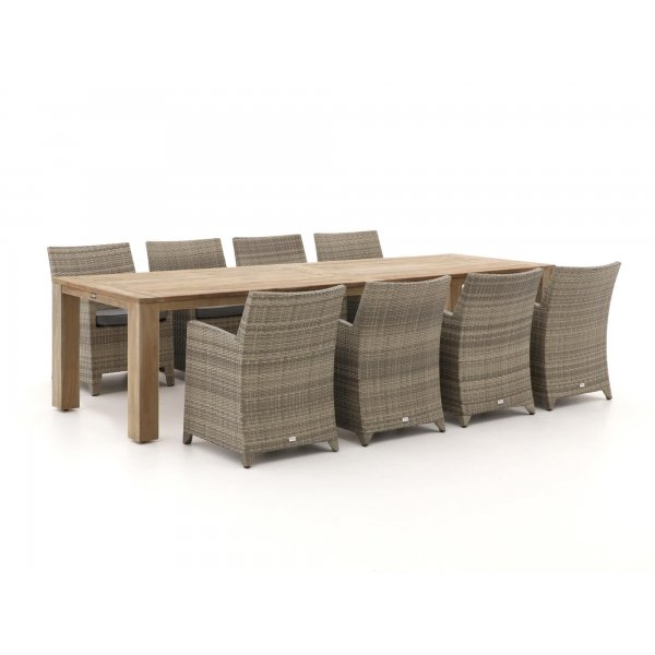 Forza Barolo/ROUGH-X 320cm dining tuinset 9-delig