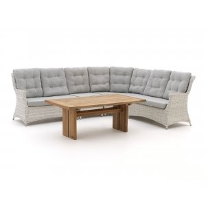 Intenso Milano/ROUGH-L dining loungeset 5-delig