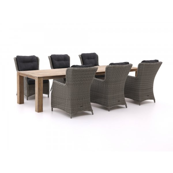 Intenso Milano/ROUGH-X 320cm lounge-dining tuinset 7-delig