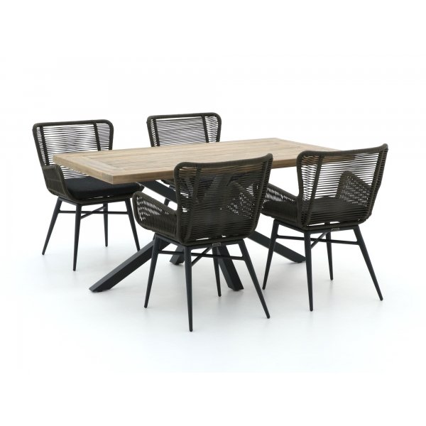 Intenso Variano/Montorio 160cm dining tuinset 5-delig