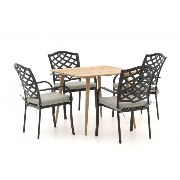 Hartman Berkeley/ROUGH-K 90cm dining tuinset 5-delig