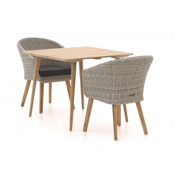 Intenso Tropea/ROUGH-K 90cm dining tuinset 3-delig