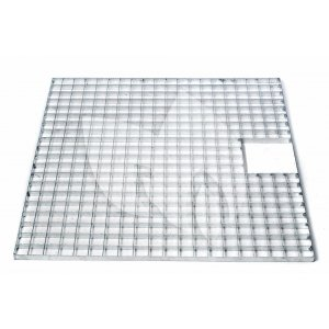 Afdekrooster vierkant - 80 x 80 cm