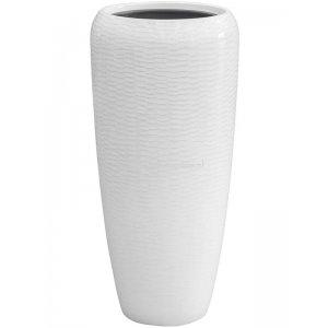 BAQ Amfi pot high 34x34x75 cm White bloempot binnen