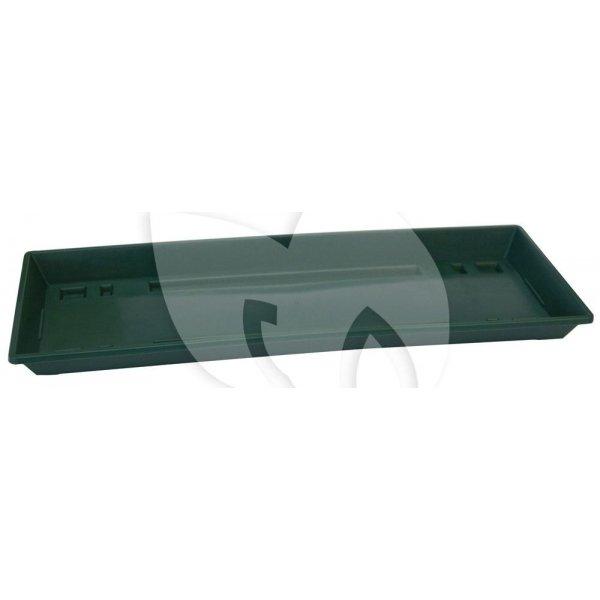 Balkonbak onderzetter standaard donker groen - Onderzetter 100 cm