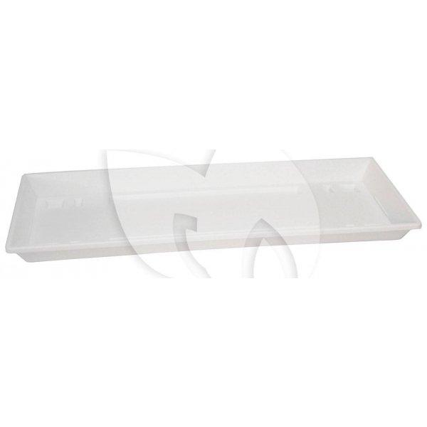 Balkonbak onderzetter standaard wit - Onderzetter 60 cm