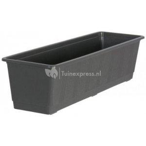 Balkonbak standaard antraciet - Balkonbak antraciet 80 cm