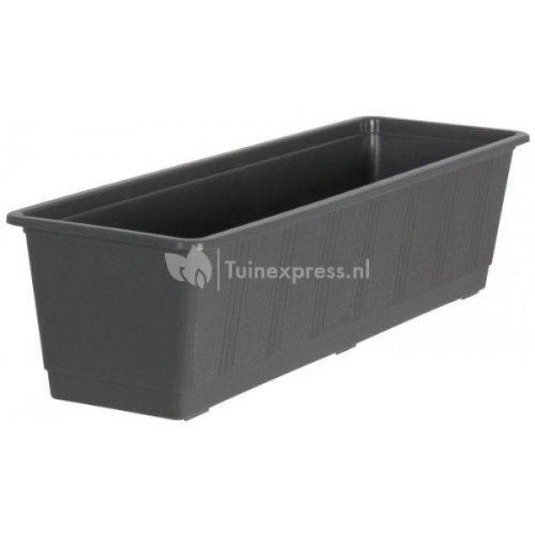 Balkonbak standaard antraciet - Balkonbak antraciet 60 cm