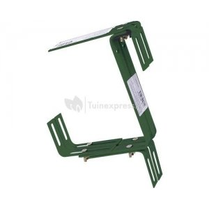 Balkonhaak type C donker groen - 2 stuks