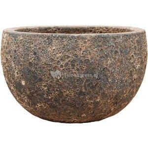 Baq Lava Bowl M 40x40x24 cm Relic Rust Metal bloempot