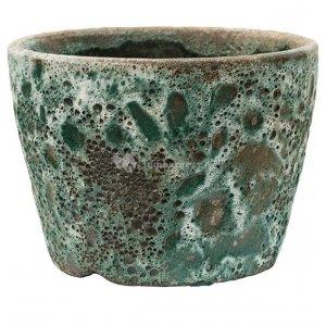 Baq Lava Couple straight S 19x19x13 cm Relic Jade bloempot binnen