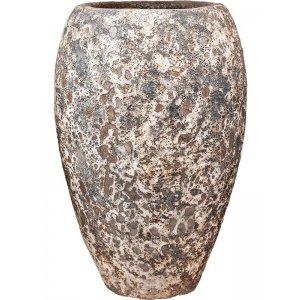 Baq Lava Emperor M 45x45x75 cm Relic Rust Metal bloempot