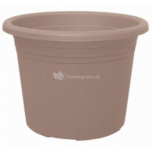 Bloempot Cylindro taupe - Ø 50 cm – 42 liter