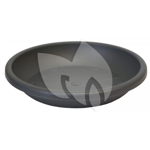 Bloempot onderzetter Cylindro antraciet - Ø 37 centimeter