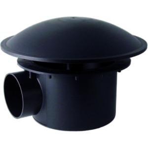 Bodemafvoer met bocht - 110 mm