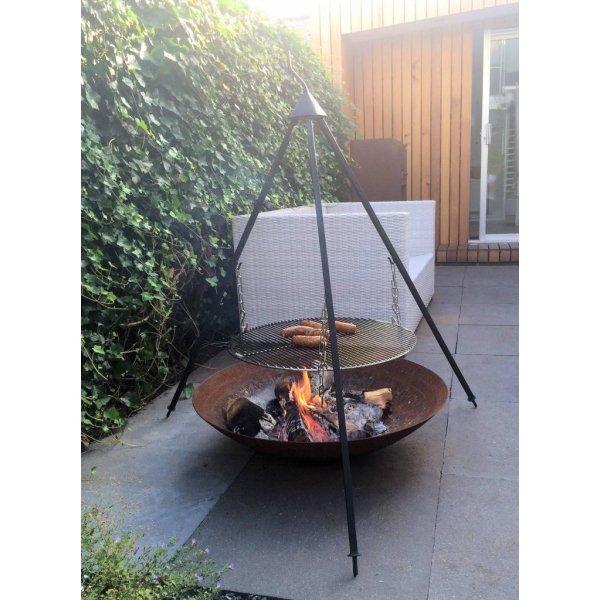 Bonfire BBQ Driepoot SetTerrasverwarming