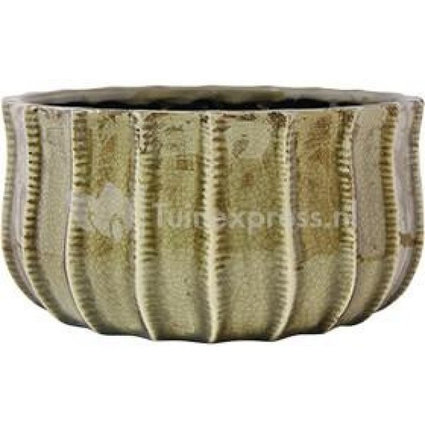 Bowl Manon taupe bloempot binnen 27 cm
