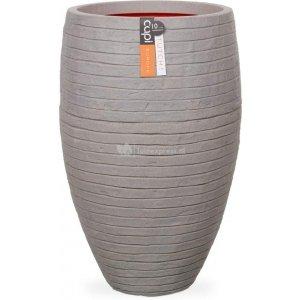Capi Nature Row NL vase elegant luxe XL 56x56x86cm Grijs bloempot