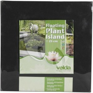 Drijvend planteneiland vierkant Velda - 35 x 35 cm