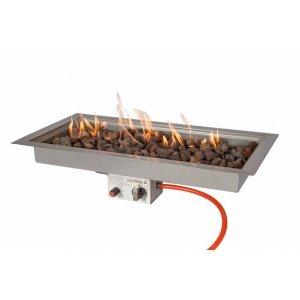 Easy Fires inbouwbrander rechthoek 78x38x16