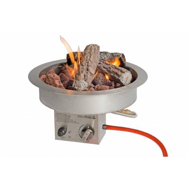 Easy Fires inbouwbrander rond 40x16