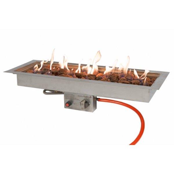 Easy Fires vuurtafel Milano rechthoekTerrasverwarming