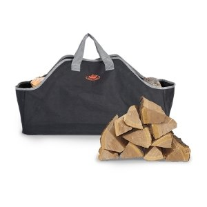 Esschert Design - Haardblokkentas zwart grijs