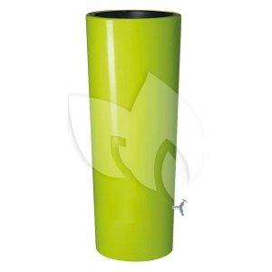 Garantia regenton met bloembak 350 liter groen