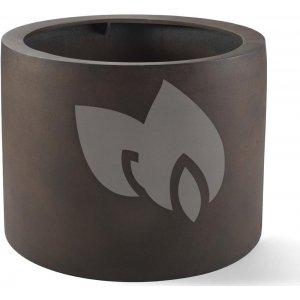 Grigio plantenbak Cylinder L roestig metaal betonlook