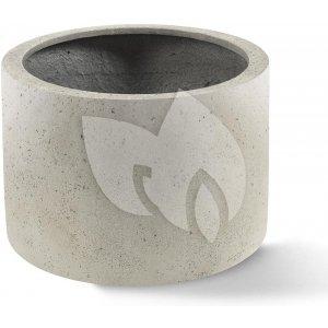 Grigio plantenbak Cylinder M antiek wit betonlook